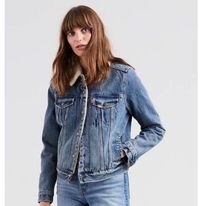 Levi's Original Sherpa Trucker Denim Jacket